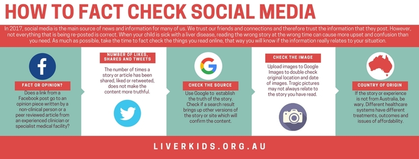 How to fact check social media
