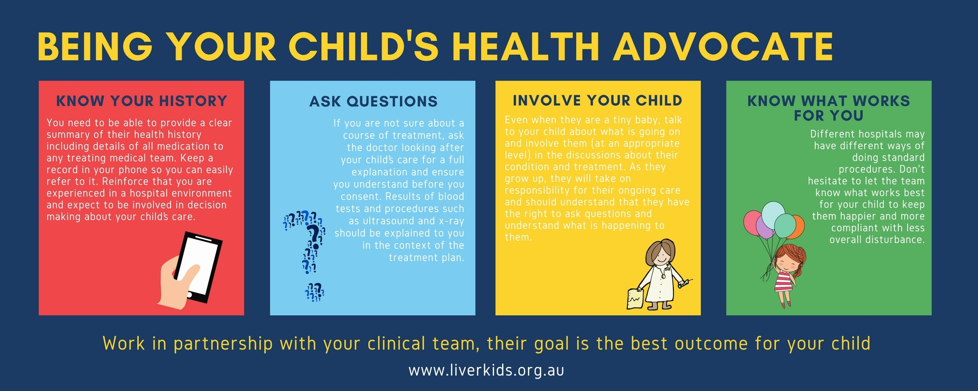 Being your child's health Advocate Lscape